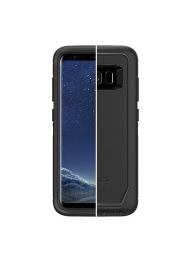 Darbeye Dayanıklı Defender Galaxy S8 Kılıf Black-OtterBox